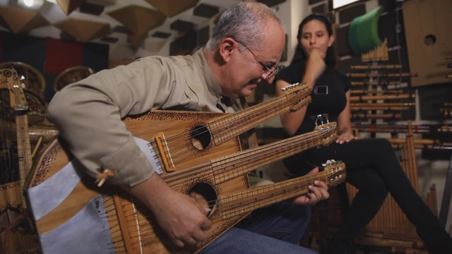 Ecuadorian musician connects with the land