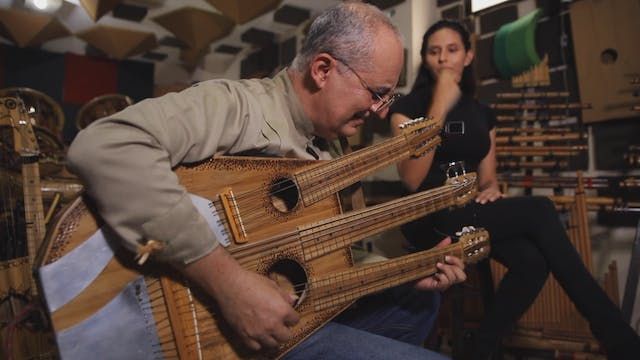 Ecuadorian musician connects with the...