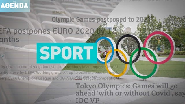 FORECASTING 2021: Sport - #TheAgenda ...