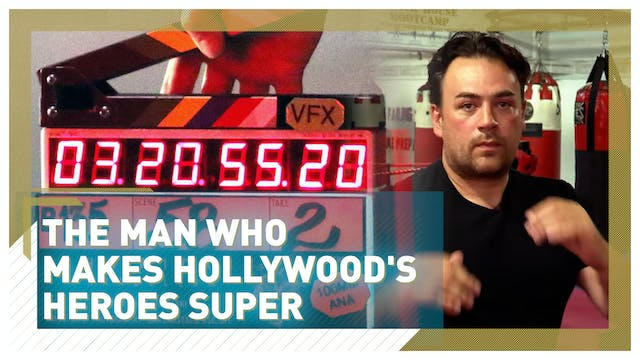 The man who makes Hollywood's heroes ...