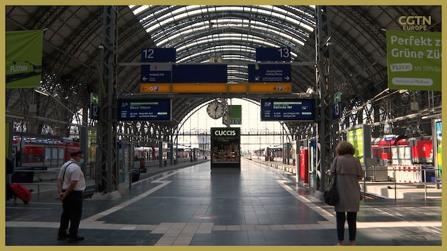 German trains cancelled amid ongoing strike