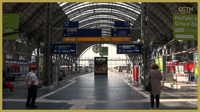 German trains cancelled amid ongoing ...