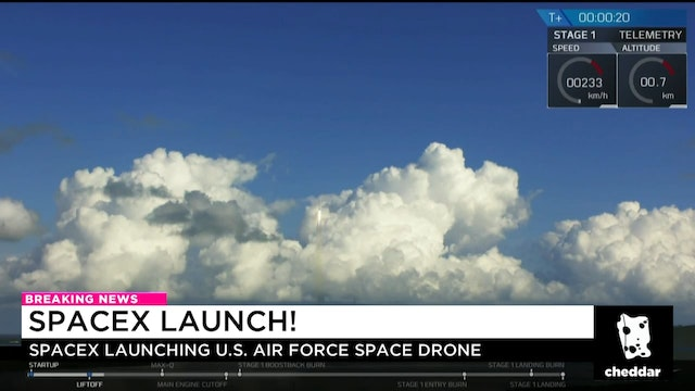 SpaceX Launches Air Force Space Drone