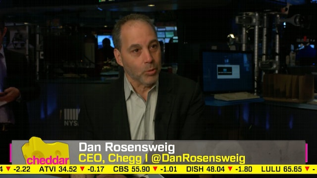 Chegg CEO Dan Rosensweig: College is ...