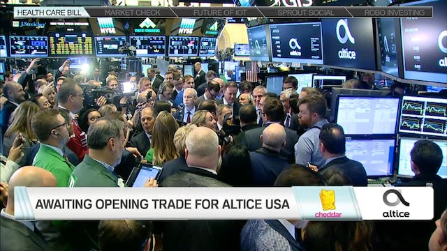 Altice USA Goes Public