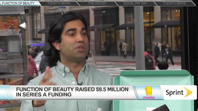 Zahir Dossa, CEO of Function of Beauty