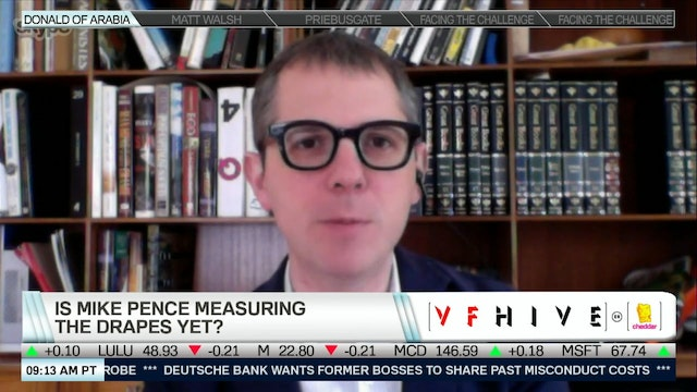 President Pence? VF Hive's T.A. Frank...