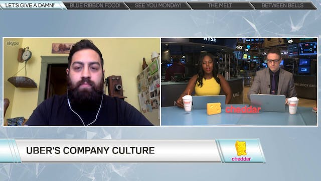 Nick Laparra joins Cheddar to speak a...