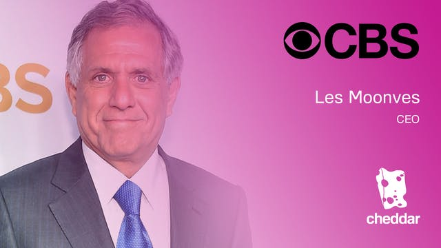 CBS CEO Les Moonves: More people are ...