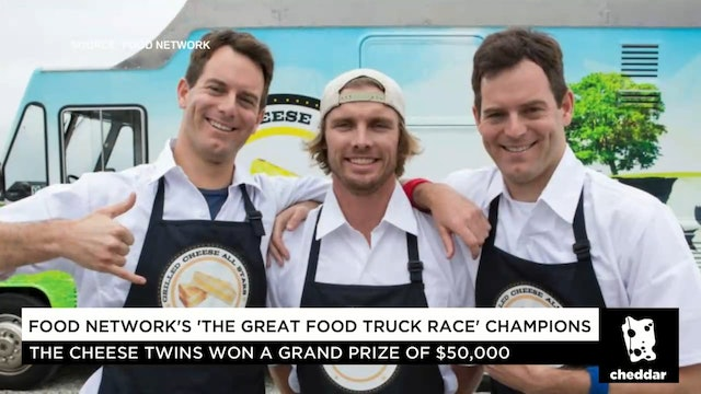 "The ""Cheese Twins"" Talk ""The Great Food Truck Race"" Strategy"