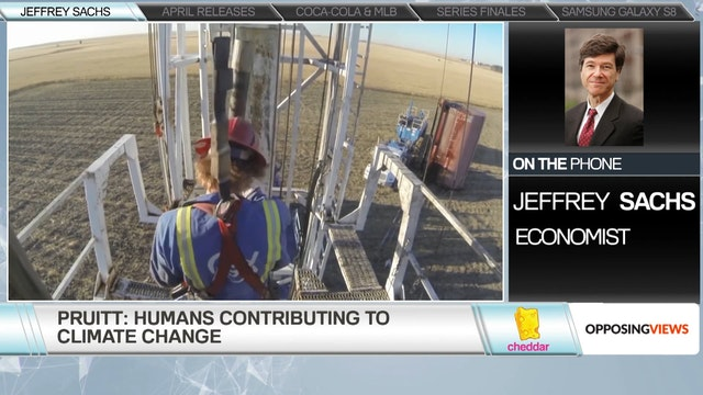 World renowned economist Jeffrey Sach...