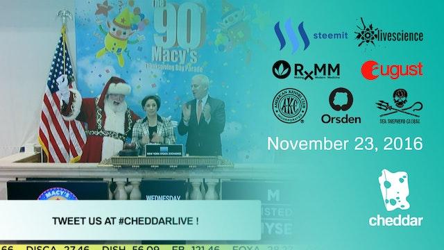 November 23, 2016 Full Show