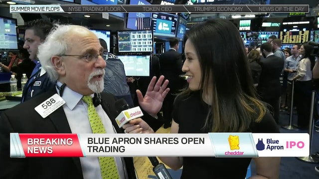 Blue Apron Shares Trade Above $10