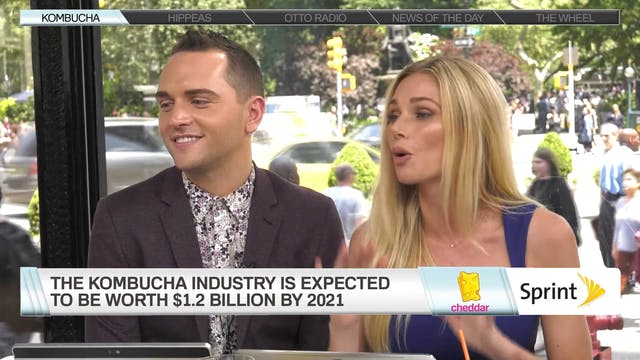 Kombucha Rises in Popularity
