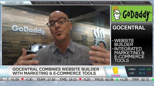 GoDaddy Details GoCentral Site Builder