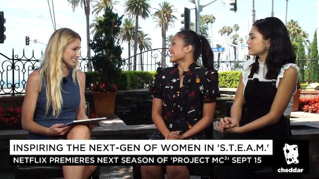 """Inspiring the Next-Gen of Women in """"S.T.E.A.M."""""""