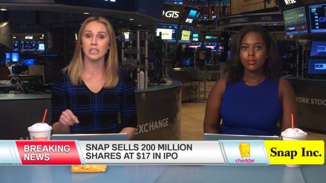 Snap IPO Pricing Announcement March 1...