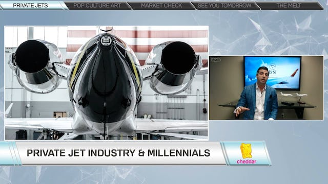 The Private Jet Industry's Attempt to Attract Millennials