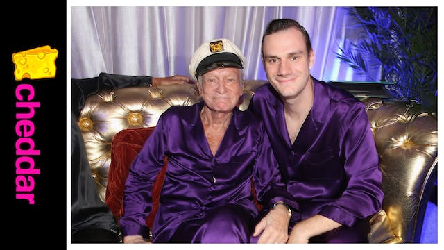 Playboy Heir Teases Hefner Movie, Cla...