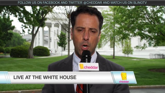 Cheddar's Jon Steinberg Live From the White House