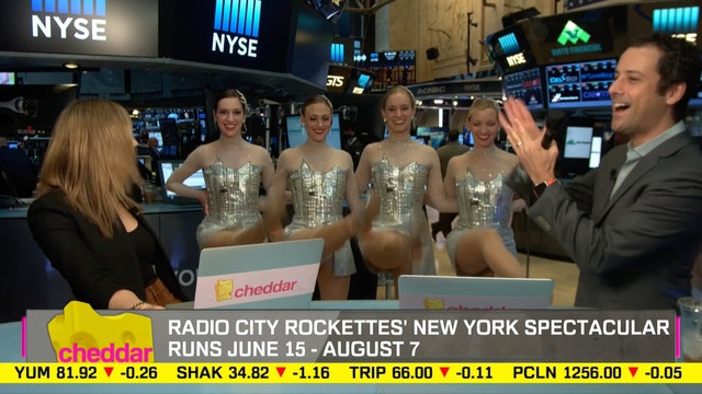 Rockettes Perform Moves from Spring S...