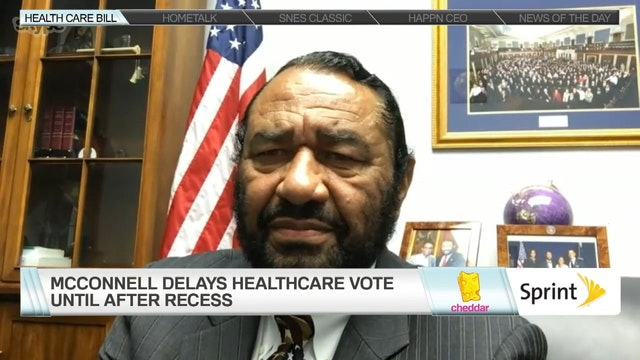 Congressman Al Green Calls Senate Hea...