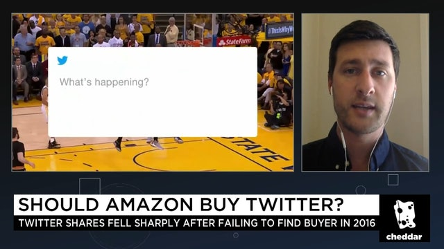 Should Amazon Buy Twitter? Recode's Kurt Wagner Weighs In