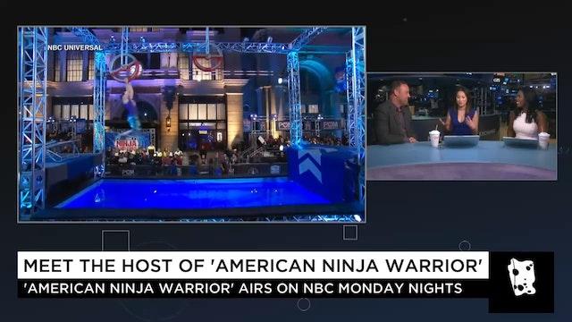 """""""American Ninja Warrior"""" Host Matt Is..."""