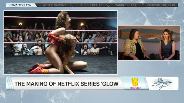 """Glow"" Star Britney Young Says Netflix Has a ""Passion"" For Its Original Programming"