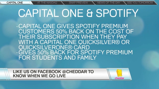 Capital One Announces Partnership wit...