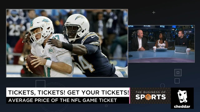 The Most Expensive Tickets in the NFL