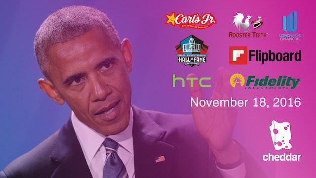 November 18, 2016 Full Show