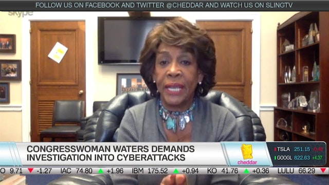 Congresswoman Maxine Waters on Her In...