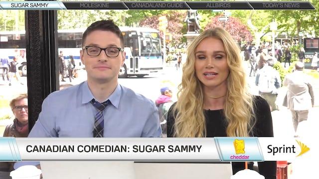 Sugar Sammy, Comedian