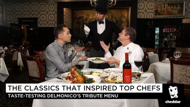 Tasting Delmonico's Tribute Menu