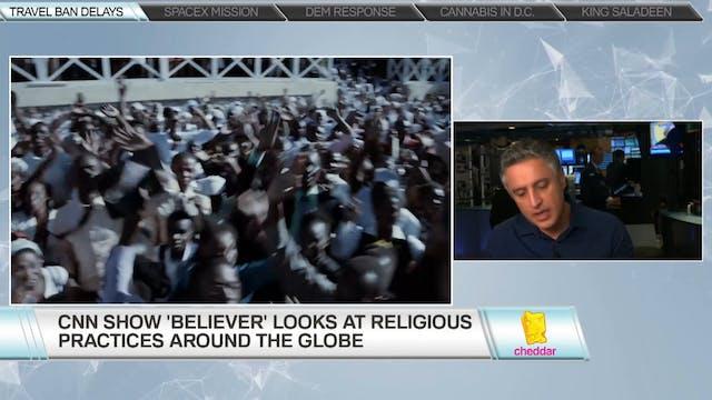 Host of CNN's 'Believer:' Reza Aslan