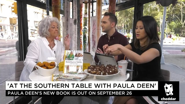 Cheddar's Digging in With Paula Deen!