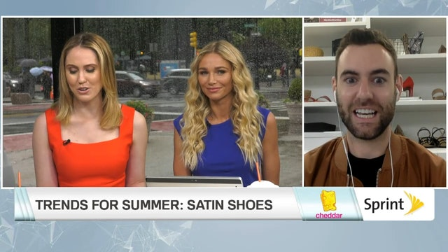Satin Shoes Are This Summer's Hottest...