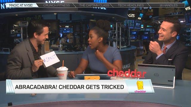 Abracadabra! Cheddar Gets Tricked