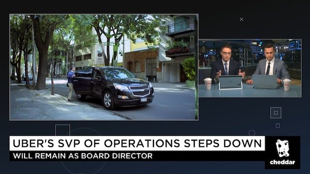 Uber's SVP of Operations Steps Down
