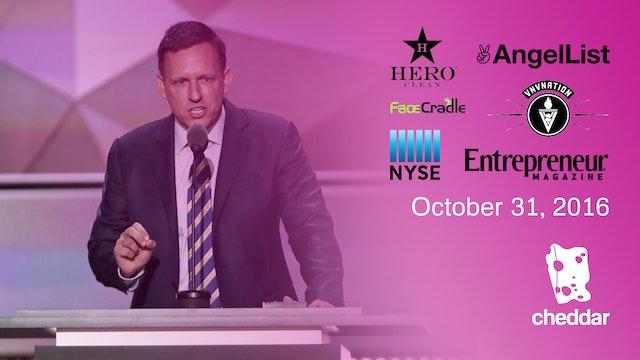 October 31, 2016 Full Show