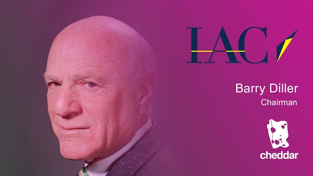 Barry Diller of IAC on Video, Cable Companies, YHOO, and Donald Trump