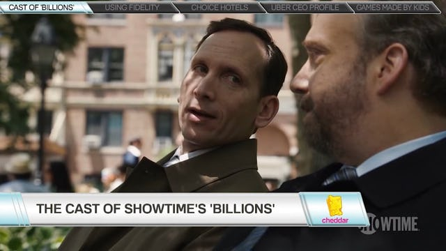 Showtime's Billions Rings the Opening Bell