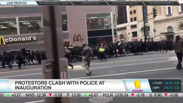 The Latest on D.C. Protests During th...