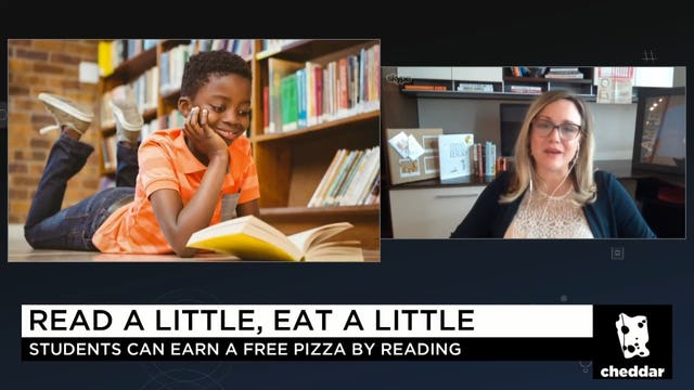 """The Next Step in Pizza Hut's """"BOOK IT!"""" Program"""