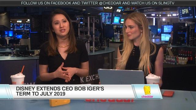 Disney Extends CEO Bob Iger Term, Aga...