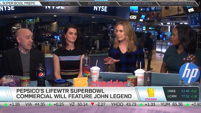 Pepsi on its Super Bowl 51 Halfime Sh...