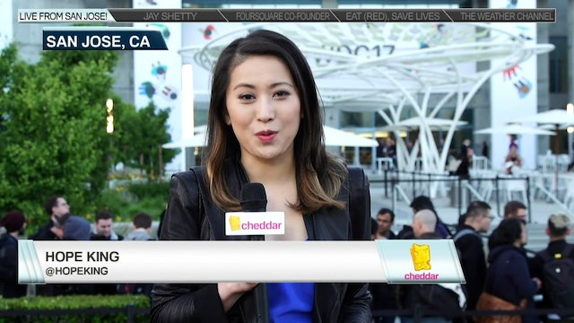 Cheddar Live from WWDC