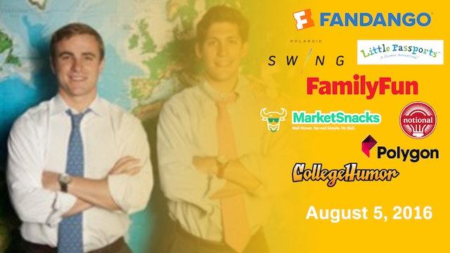 August 5, 2016 Full Show