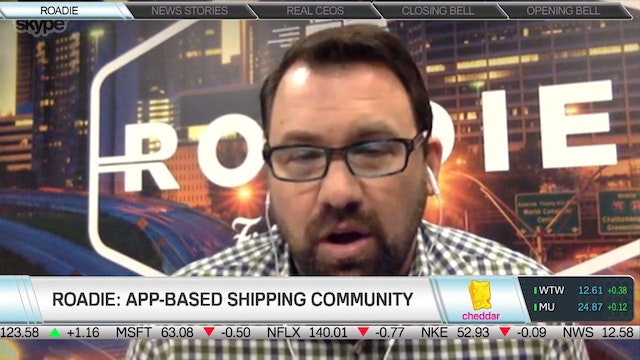 Roadie's CEO Marc Gorlin on Peer-to-P...